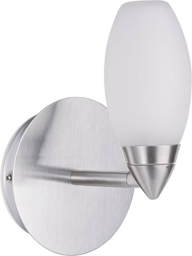 Badkamer wandlamp Halogeen G9 28 W Paulmann Carina 70352 Chroom (mat), Satijn