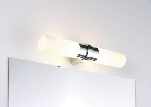wandlamp halogeen e14 80 w paulmann saphir 70358 chroom, Badkamer