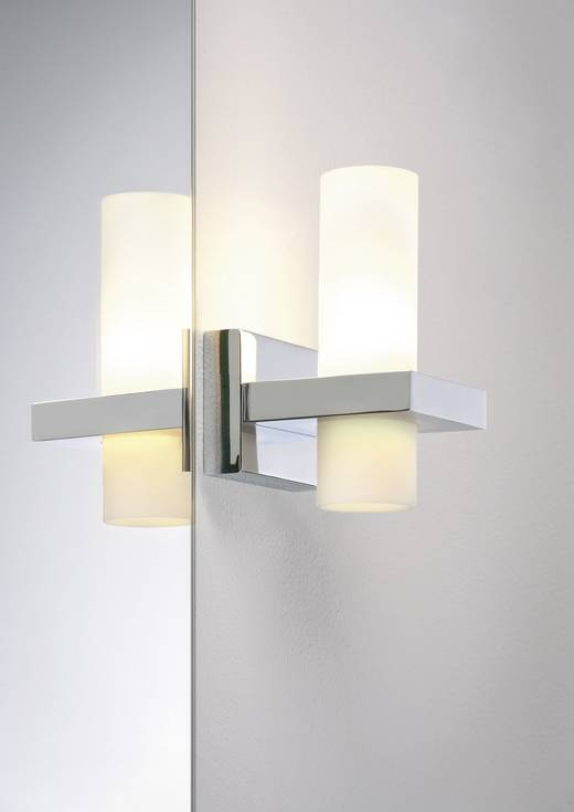 wandlamp halogeen g9 33 w paulmann antares 70359 chroom, Badkamer