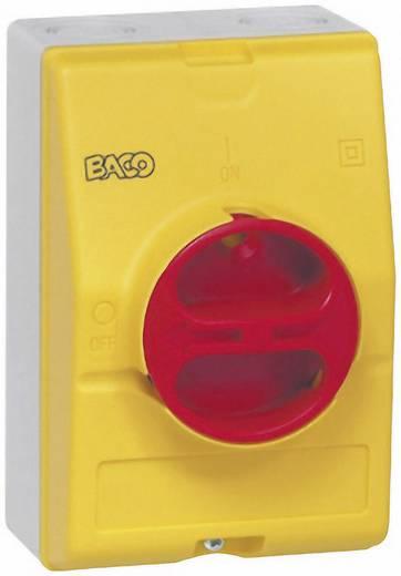 BACO BA172399 Lege behuizing Met draaischakelaar (b x h x d) 100 x 150 x 96 mm Zonder markering Geel, Rood 1 stuks