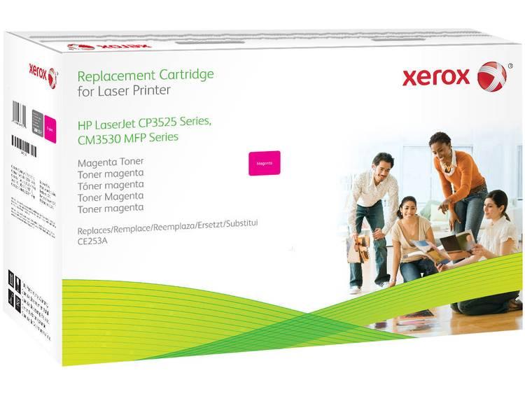 Xerox Tonercassette vervangt HP 504A CE253A Compatibel Magenta 8500 bladzijden