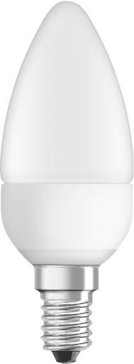 LED-lamp E14 Kaars 6 W = 40 W Warmwit (Ø x l) 38 mm x 105 mm Energielabel: A+ OSRAM Dimbaar 1 stuks