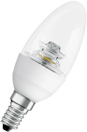 LED-lamp E14 Kaars 6 W = 40 W Warmwit (Ø x l) 42 mm x 105 mm Energielabel: A+ OSRAM 1 stuks