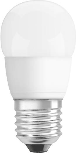 OSRAM LED E27 Kogel 6 W = 40 W Warmwit (Ø x l) 44 mm x 86 mm Energielabel: A+ Dimbaar 1 stuks