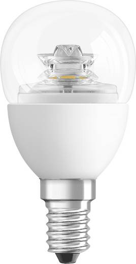 LED-lamp E14 Kogel 3.8 W = 25 W Warmwit (Ø x l) 44 mm x 82 mm Energielabel: A+ OSRAM Dimbaar 1 stuks
