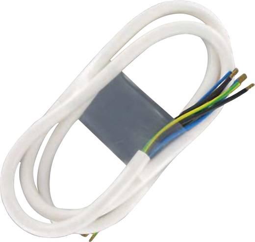 100831 Haard Aansluitkabel [ Kabel, open einde - Kabel, open einde] Wit 3 m