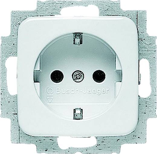 Busch-Jaeger Inbouw Stopcontact met randaarde Reflex SI, Reflex SI Lineair Alpine-wit