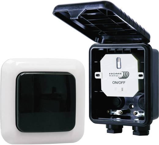 Home Easy HE834S Draadloze schakelaarset Opbouw 2-delig Schakelvermogen (max.) 1000 W Bereik max. (in het vrije veld) 30