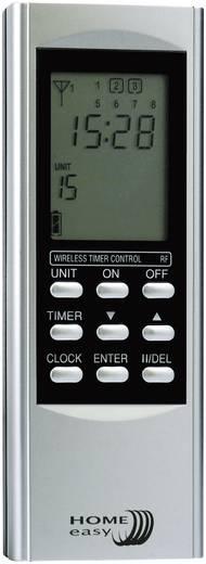 16-kanaals afstandsbediening met timer zilver
