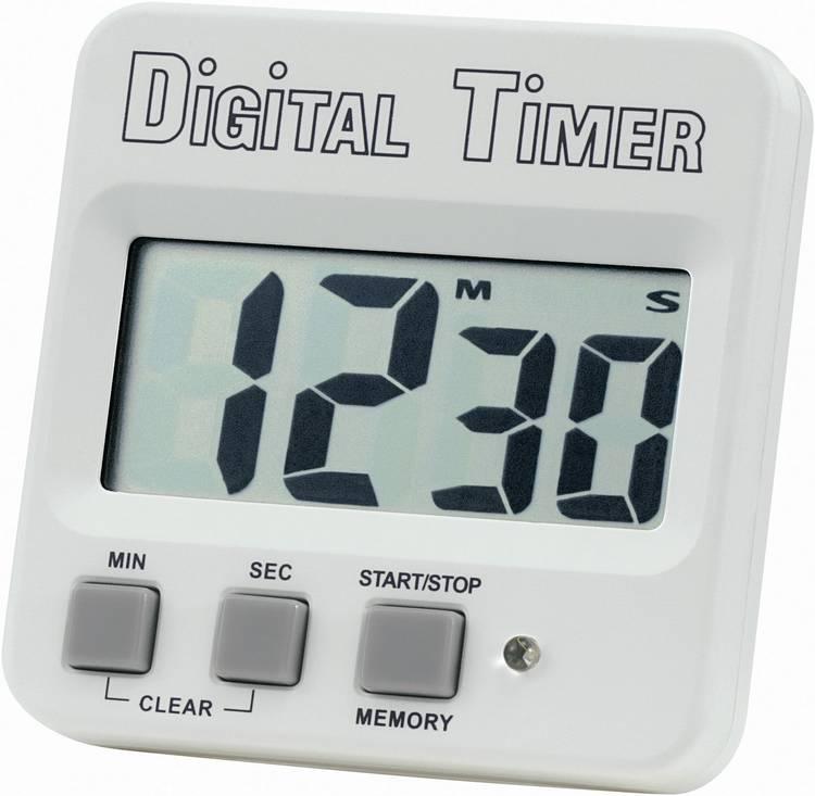 Timer Basetech 640532 Wit. Zwart Digitaal
