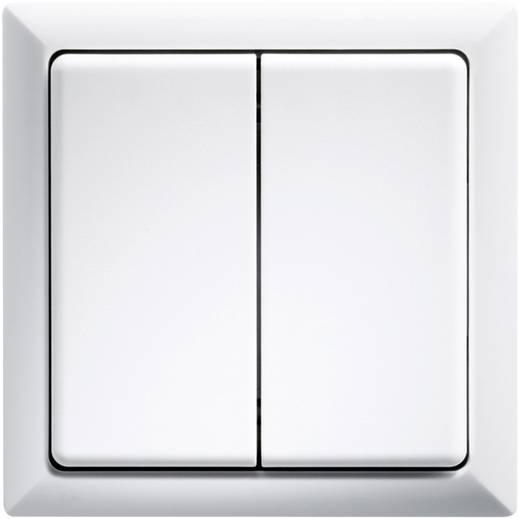 Eltako Draadloze knop FT4F-RW 2-kanaals Opbouw Bereik max. (in het vrije veld) 100 m