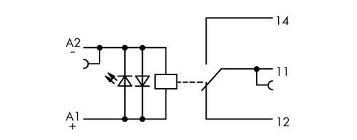 WAGO 859-317 Relaisklem 1 stuks Nominale spanning: 110 V/DC Schakelstroom (max.): 50 mA 1x wisselaar