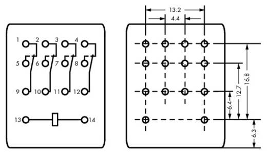 WAGO 858-150 Steekrelais 24 V/DC 5 A 4x wisselaar 1 stuks