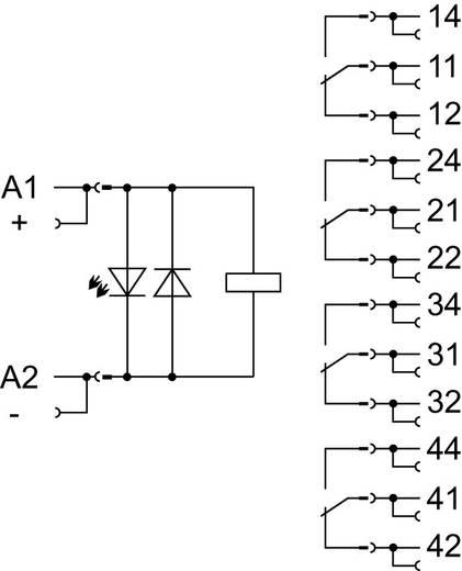 Insteekvoet met industrieel relais