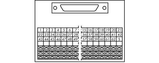 WAGO 289-710 Transfer blok Inhoud: 1 stuks