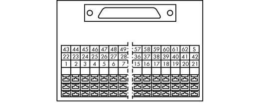 WAGO 289-708 Transfer blok Inhoud: 1 stuks