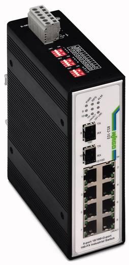 Industriële switch unmanaged WAGO 852-103/040-000 Aantal ethernet-poorten 10 LAN-overdrachtsnelheid 100 Mbit/s Voedingsspanning (num) 12 V/DC, 24 V/DC, 48 V/DC