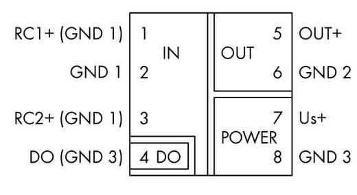 WAGO 857-552 857-552 JUMPFLEX® zender Rogowski transducer 1 stuks