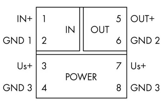 WAGO 857-413 JUMPFLEX® zender Scheidingsschakelversterker vastgesteld spanningssignalen 1 stuks