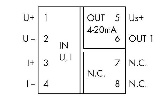 WAGO 857-450 857-450 JUMPFLEX® zender -Loop Powered Isolation Amplifier 1 stuks