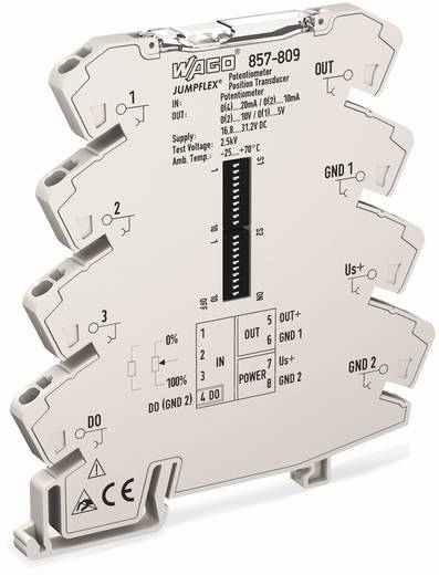 WAGO 857-809 857-809 JUMPFLEX® zender Potipositionsmessumformer 1 stuks