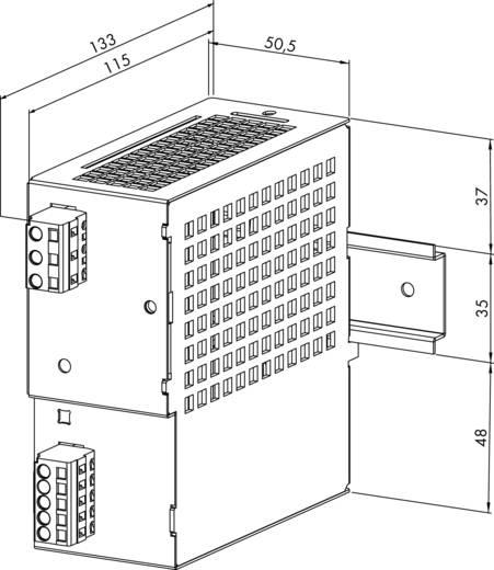 WAGO 787-692 Din-rail netvoeding 30.5 V/DC 3 A 91.5 W