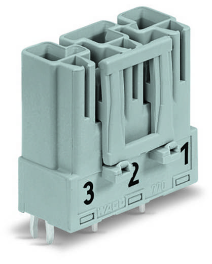 Netstekker Serie (connectoren) WINSTA MIDI Stekker, inbouw verticaal Totaal aantal polen: 3 25 A Lichtgroen WAGO 100 s