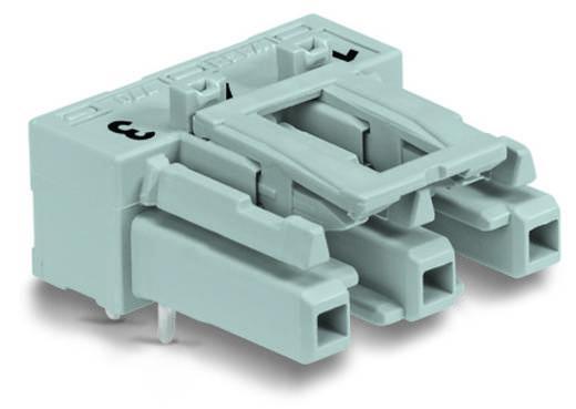 Netstekker Serie (connectoren) WINSTA MIDI Bus, inbouw horizontaal Totaal aantal polen: 3 25 A Zwart WAGO 100 stuks