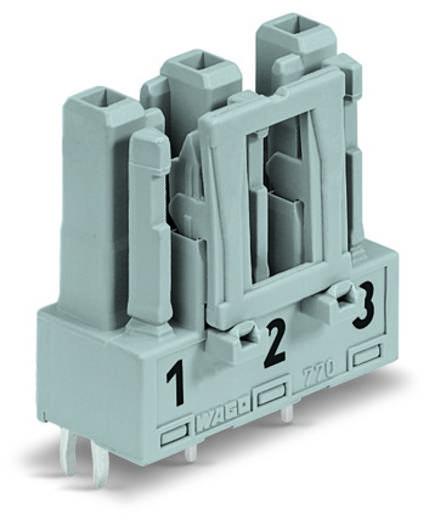 WAGO 770-803 Netstekker Bus, inbouw verticaal Totaal aantal polen: 3 25 A Zwart 100 stuks