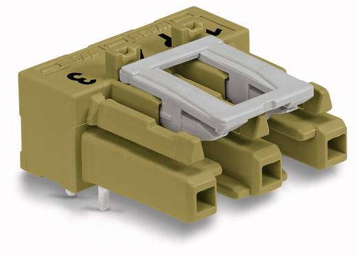 WAGO 770-863/011-000/073-000 Netstekker Bus, inbouw horizontaal Totaal aantal polen: 3 25 A Lichtgroen 100 stuks
