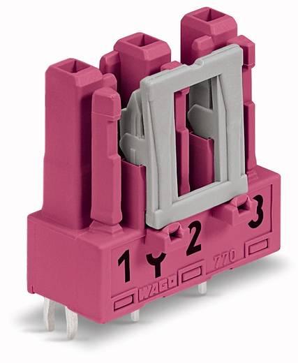 WAGO 770-883 Netstekker Bus, inbouw verticaal Totaal aantal polen: 3 25 A Roze 100 stuks