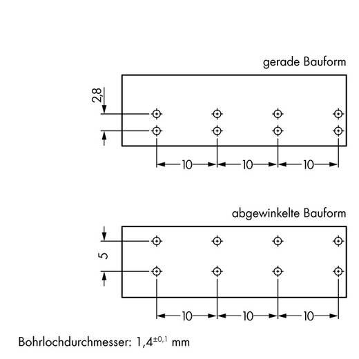 Netstekker Serie (connectoren) WINSTA MIDI Bus, inbouw horizontaal Totaal aantal polen: 4 25 A Grijs WAGO 50 stuks