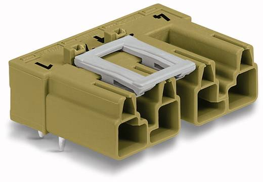 WAGO 770-874/011-000/072-000 Netstekker Stekker, inbouw horizontaal Totaal aantal polen: 4 25 A Lichtgroen 50 stuks