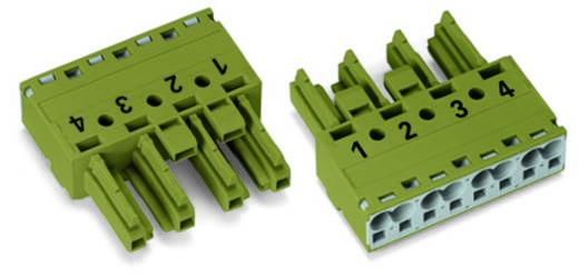 Netstekker Serie (connectoren) WINSTA MIDI Bus, recht Totaal aantal polen: 4 25 A Lichtgroen WAGO 50 stuks