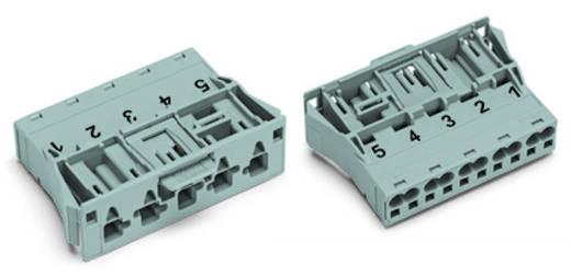 Netstekker Serie (connectoren) WINSTA MIDI Stekker, recht Totaal aantal polen: 5 25 A Grijs WAGO 100 stuks