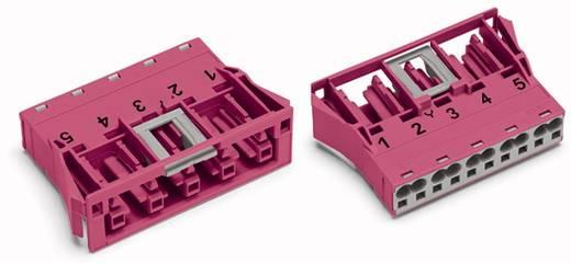 WAGO 770-785 Netstekker Bus, recht Totaal aantal polen: 5 25 A Roze 100 stuks