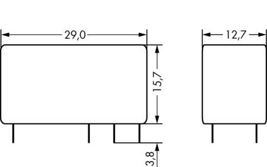 WAGO 788-156 Printrelais 24 V/DC 8 A 2x wisselaar 1 stuks