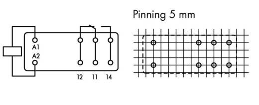 WAGO 788-175 Printrelais 115 V/AC 16 A 1x wisselaar 20 stuks