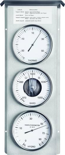 Analoog weerstation Fischer Wetter Station météo extérieure en acier inoxy