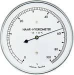 Hygrometer met echt haar, roestvrij staal
