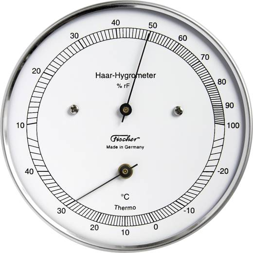 Wand Thermo- en hygrometer 528203