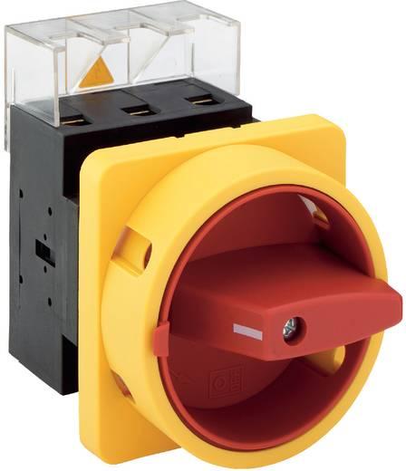 Lastscheidingsschakelaar 80 A 1 x 90 ° Geel, Rood Sälzer H408-41300-033M4 1 stuks