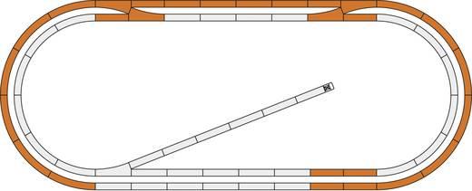 H0 Roco GeoLine (met ballastbed) 51250 Uitbreidingsset