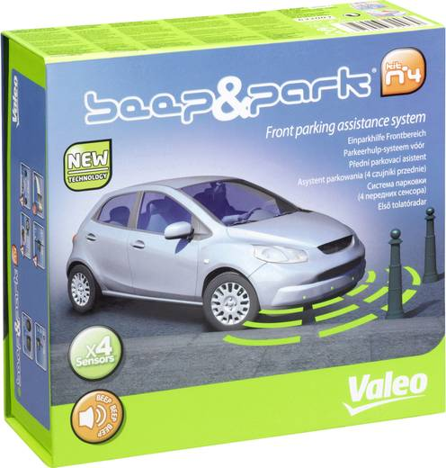 Valeo Kabelgebonden parkeersensoren Voorkant akoestisch BEEP & PARK 4