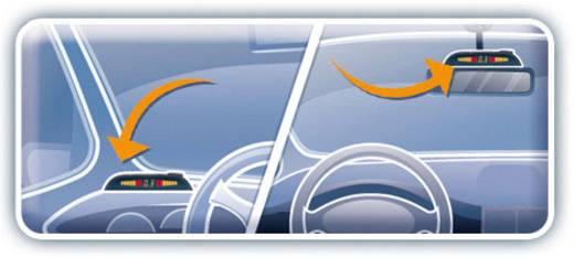 Valeo Kabelgebonden parkeersensoren Achterkant akoestisch, optisch BEEP & PARK 2