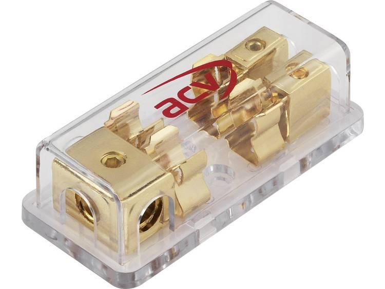 Stroomkringverdeler Hoogvermogenzekering, Buiszekering 10.3 x 38 mm 20 mm² 1 stuks