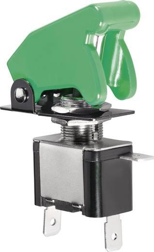 Tuimelschakelaar met LED groen 12 V