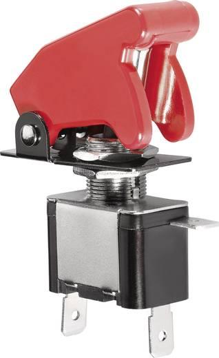 Tuimelschakelaar met LED rood 12 V