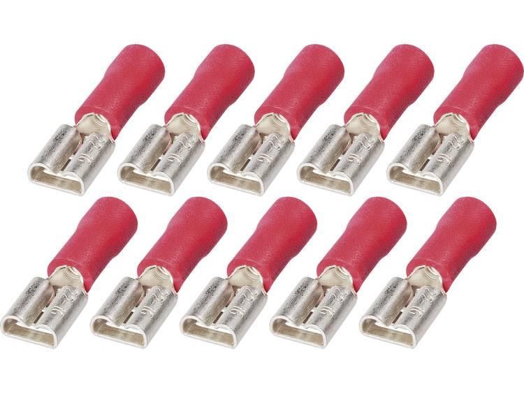 i 0,5 1,5 mm² 6,3 Platte insteekhulzen FSPV 6,3 6 0,5 tot 1,5 mm² Aantal polen 1