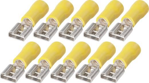 Platte insteekhulzen FSP 6,3-6 2,5 tot 6 mm² Aantal polen: 1
